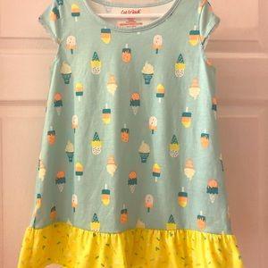 Cat & Jack ice cream nightgown 6/6x